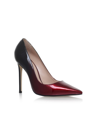 Carvela Alice Wine High Heel Court Shoes
