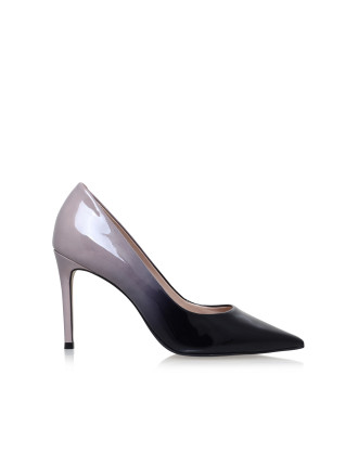 Carvela Alison Nude Mid Heel Court Shoes