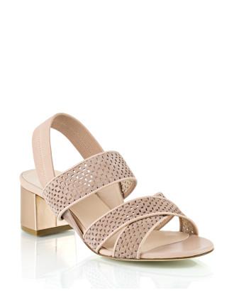 Cameo Laser Cut Sandal