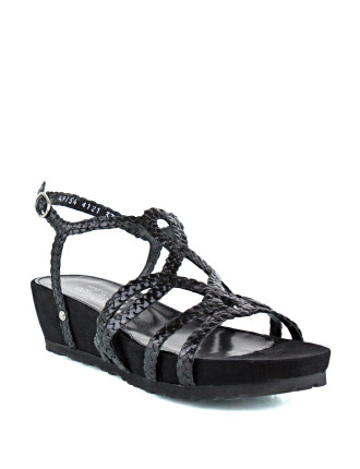 Ravine Woven Wedge Sandal