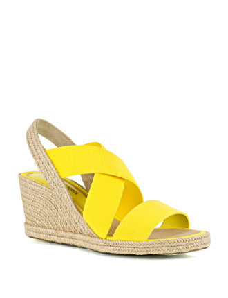 Kirby Strappy Espadrille Wedge