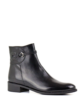 Verbs Flat Ankle Boot