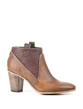 Zozo Western Style Ankle Boot