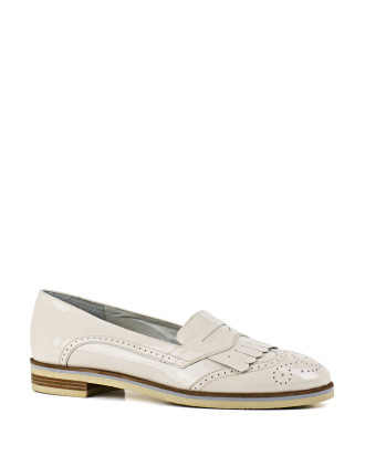 Glass Brogue Detailed Loafer