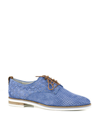 Percy Perforated Lace Up