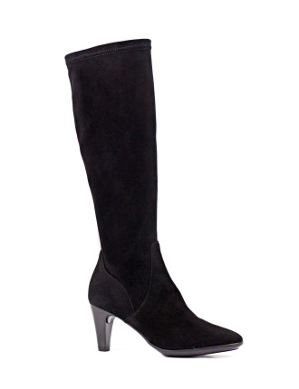 Damara Stretch Over The Knee Boot