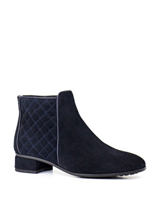 Zarna Quilted Ankle Boot