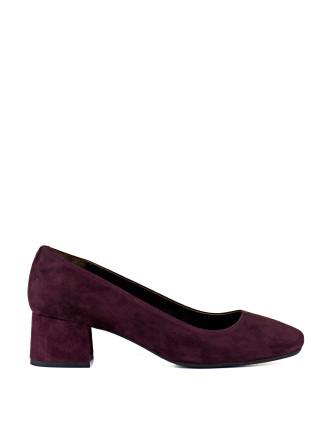Amity Block Heel Pump