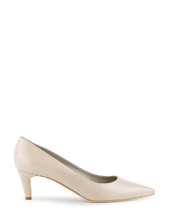 Corina Low Heel Point Pump