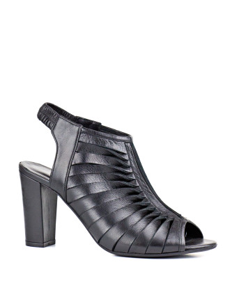 Harlow Open Toe Twist Strap Sandal