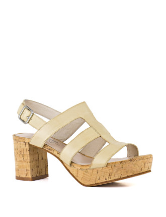 Harmer Cork Platform Sandal