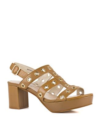 Henda Platform Sandal With Eylets