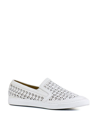 Lula Perforated Slip On Sneaker