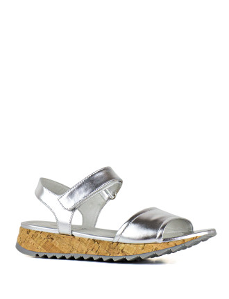 Sable Ankle Strap Sandal