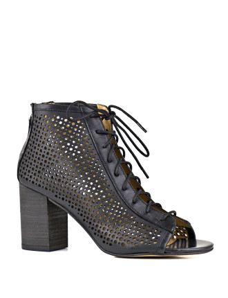 Nelson Perforated Ankle Boot
