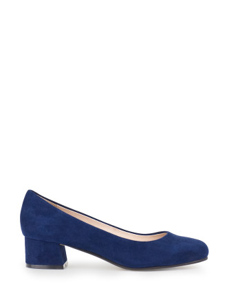 Alto Low Block Heel Pump