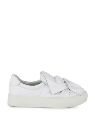 Annabel Bow Slip-On Sneaker