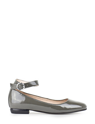 Flint Ballerina With Ankle Strap