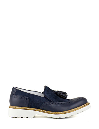 Gourmet Slip-On Brogue