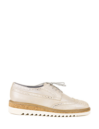 Puppet Wing Tip Brogue Lace Up