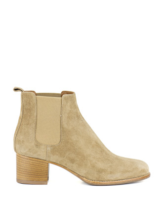 Tory Mid Heel Ankle Boot
