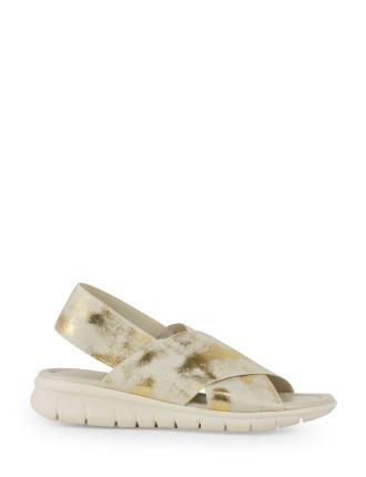 Leonia Crossover Elastic Sandal