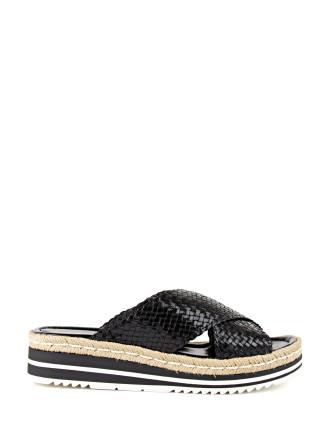 Renny Crossover Slide Sandal