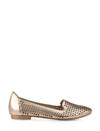 SIENNA LASER CUT LOAFER