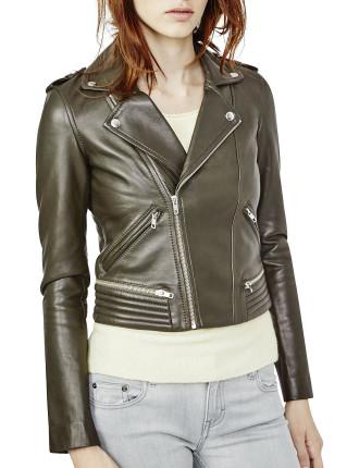 Basalt Leather Jacket