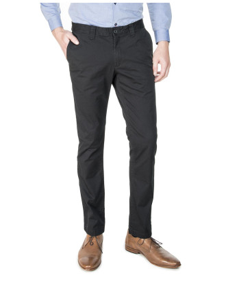 Stretch Cotton Slim Chinos