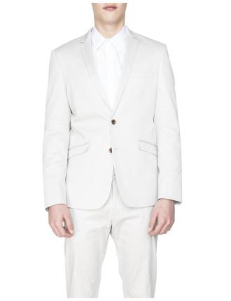 Cotton Sateen Jacket