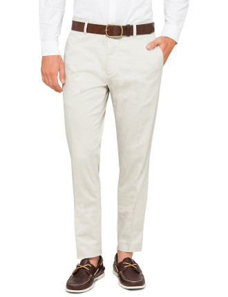 Cotton Slim Fit Trousers