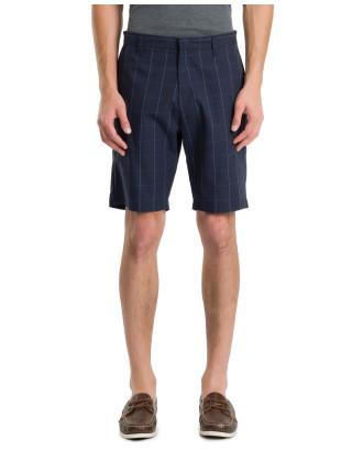 Grid Check Shorts