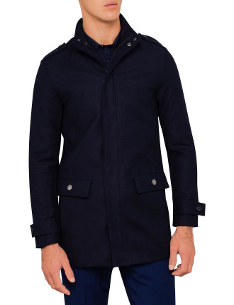 Concealed Cotton Coat