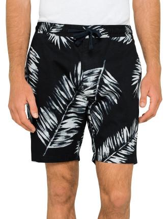 Leaf Design Shorts
