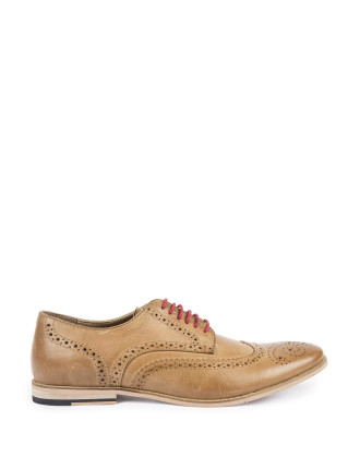 Designer Clothing Brands A-z Burnished Leather Brogues