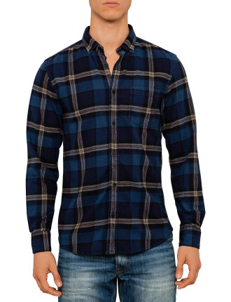 Ls Warmhandle Check Shirt