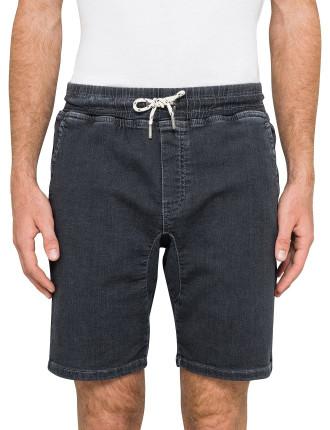 Grey Knit Short