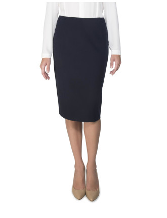 Side Panel Pencil Skirt