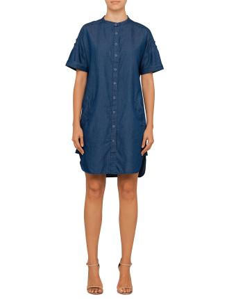 Tencel Utility Dress