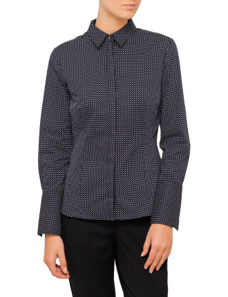 Printed Workwear Shirt