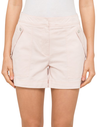 Structured Chino Short