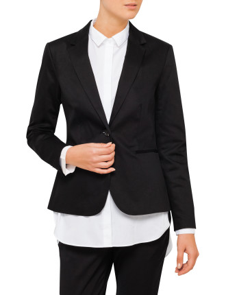 Stretch Structured Jacket
