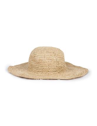 Sweat Casual Wide Brim Hat