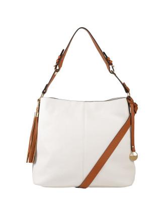 Leather Look Hobo Bag