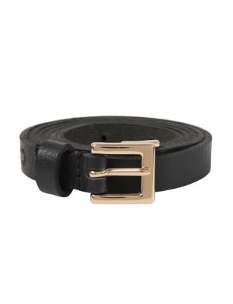 Trimmed Skinny Belt