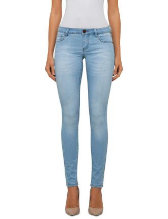 Light Faded Skinny Jeans