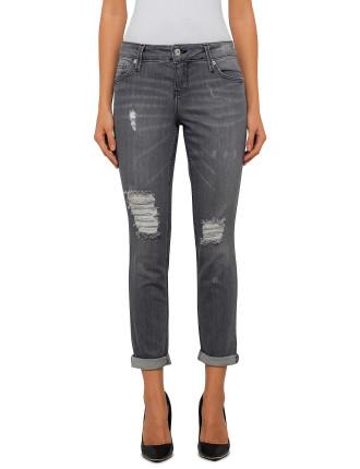 Breakage Boyfriend Jeans