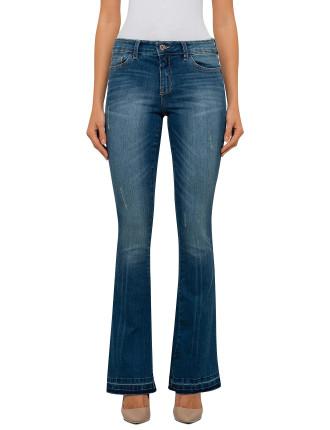 Breakage Flare Jeans