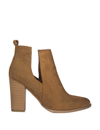 Stud Cut Out Boot